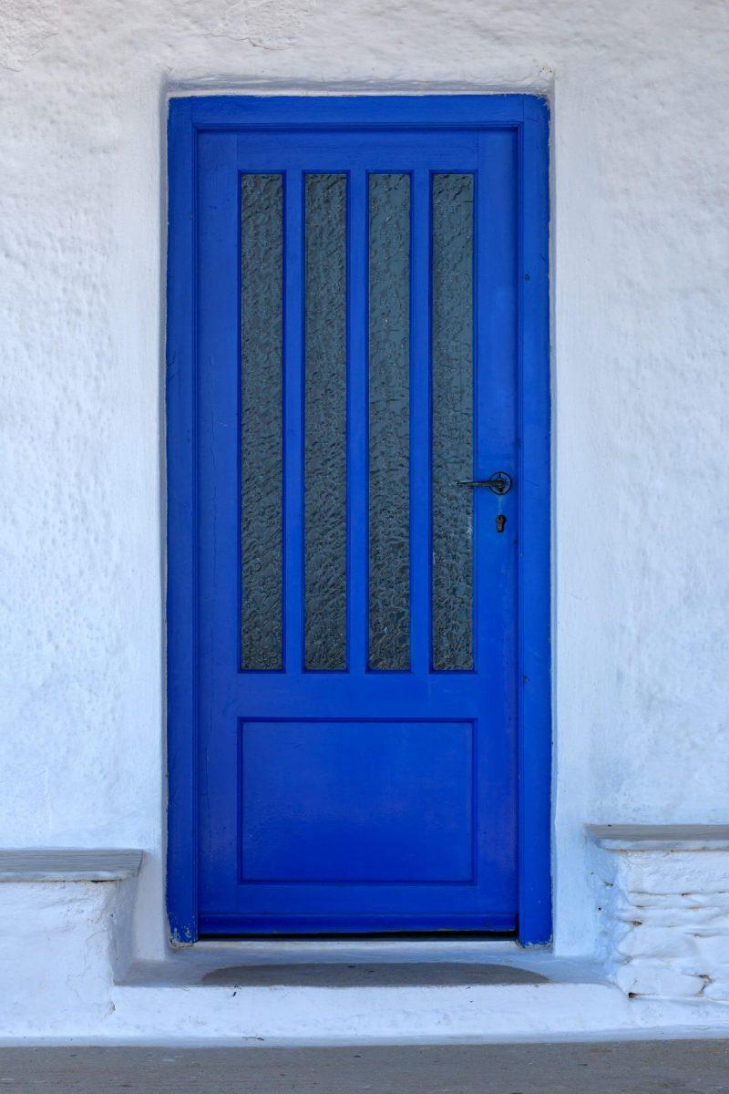 Tür, Blau, Neuromarketing