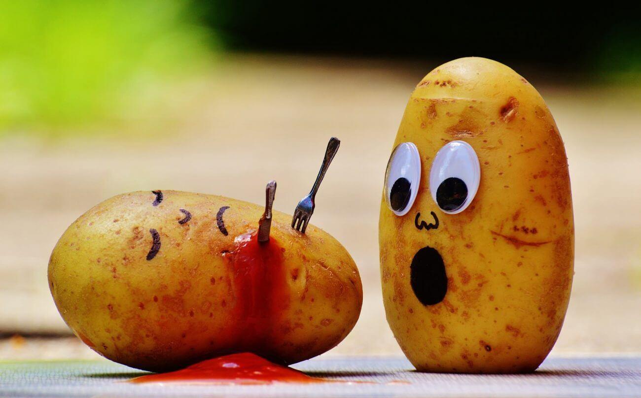 Kartoffeln , Kohlenhydrate