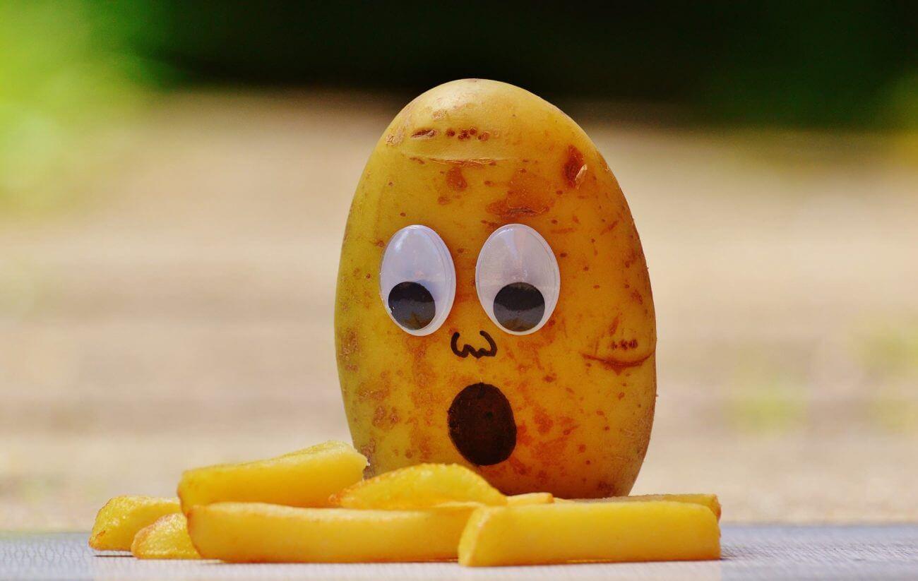 Kohlenhydrate Kartoffel Fritten
