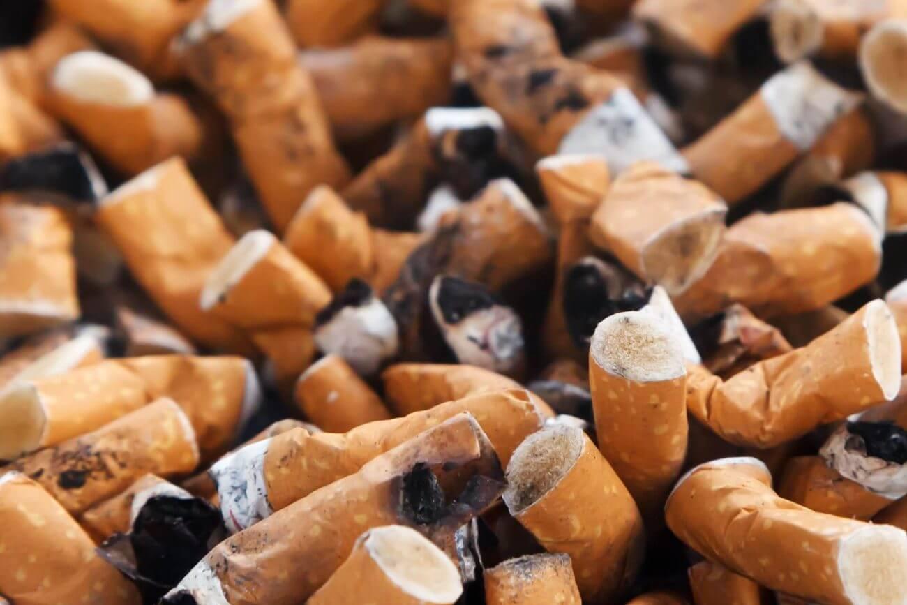 COPD,Rauchen aufhören, Aschenbecher, Ungesund