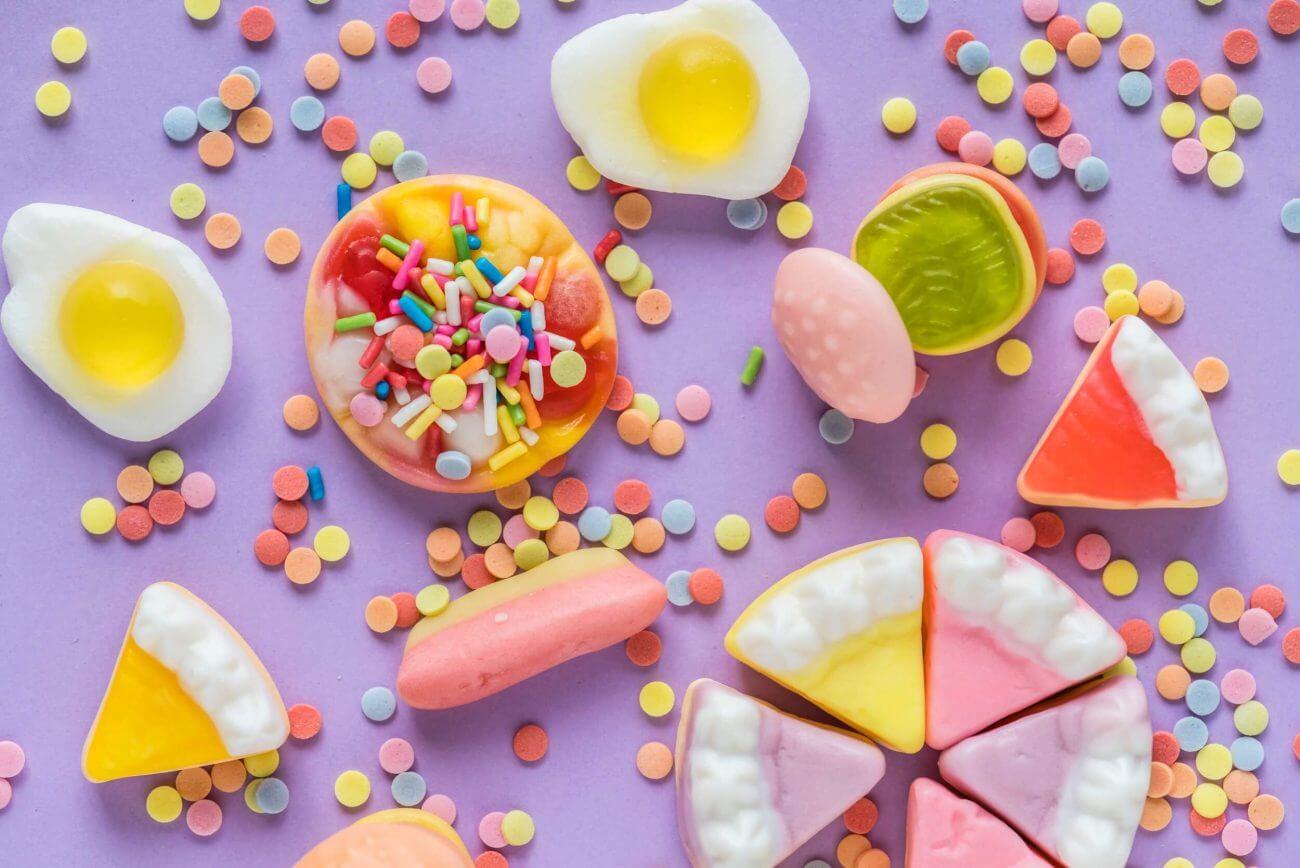 Zucker, Zûckerkonsum, Gluckose, Süssigkeiten, Diabetis
