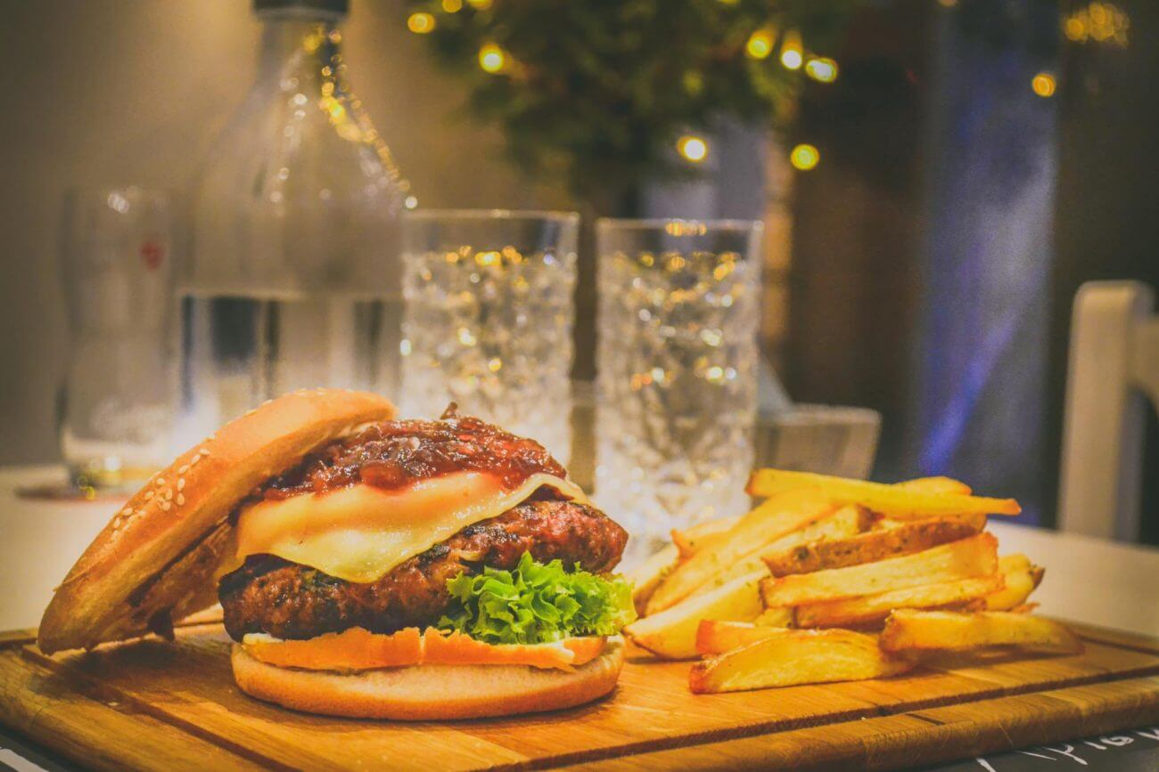 Heißhunger, Fett, Übergewicht, Burger, Cholesterin senken